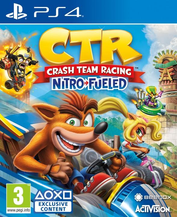 CTR Cover New PS4