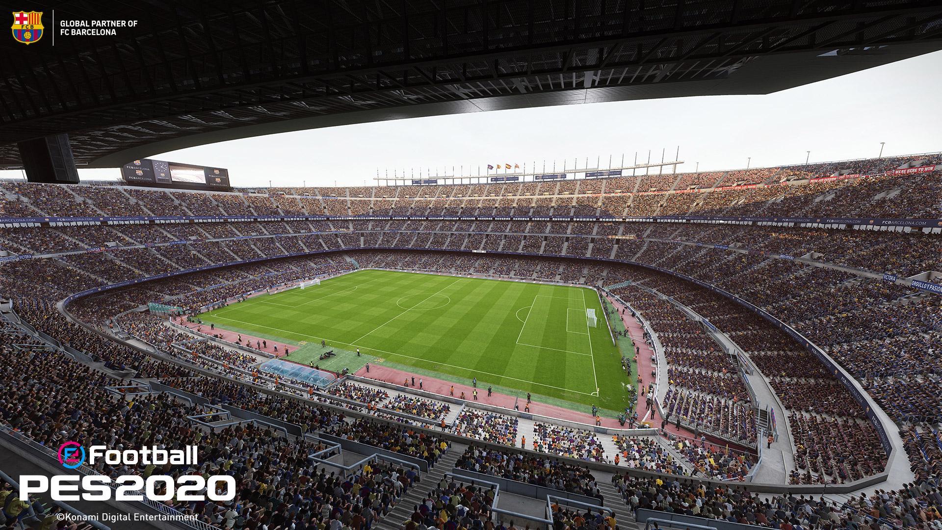 camp nou pes 2020 all stadiums pro evolution soccer 2020 efootball database camp nou pes 2020 all stadiums pro