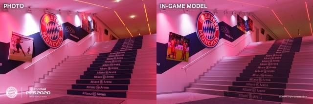 PES2020 BayernMunich Stadium AllianzArena Comparison 3