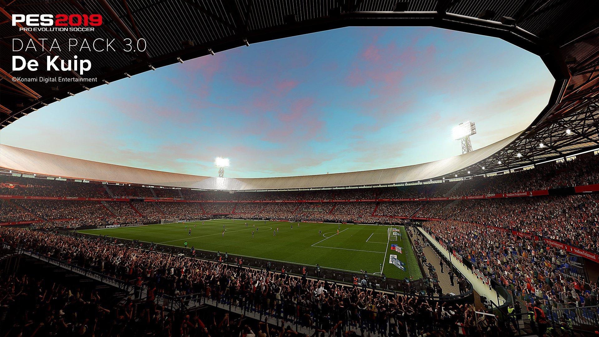 De Kuip Pes 2020 All Stadiums Pro Evolution Soccer 2020 Efootball Database