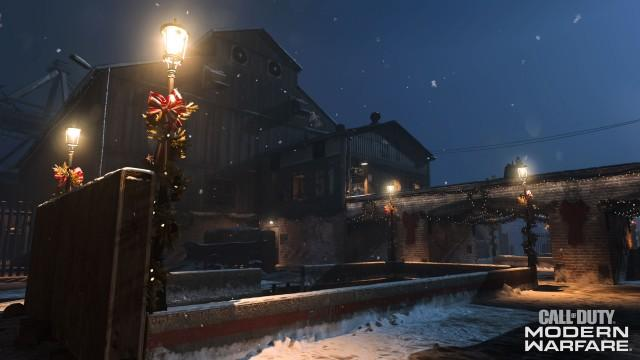 CODModernWarfare Docks Winter 1