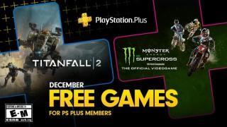 PlayStation December's Free PS Plus Games: Titanfall 2 & Monster Energy Supercross