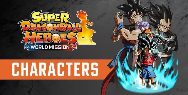 Super Dragon Ball Heroes World Mission Playable Characters Full List Guide Video Games