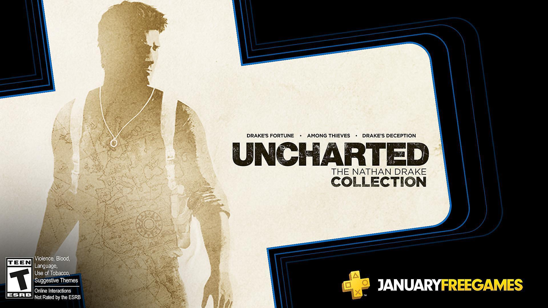 Playstation January S Free Ps Plus Games Uncharted The Nathan Drake Collection Goat Simulator Video Games Articles