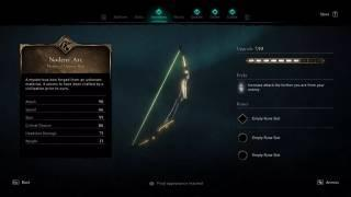 How to obtain the Noden's Arc in Assassin's Creed Valhalla: Isu Bow Secret Weapon Guide