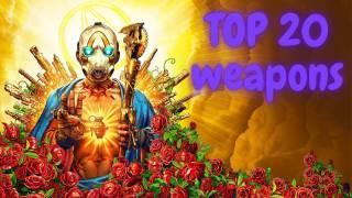 TOP 20 Weapons in Borderlands 3 [March 2021]