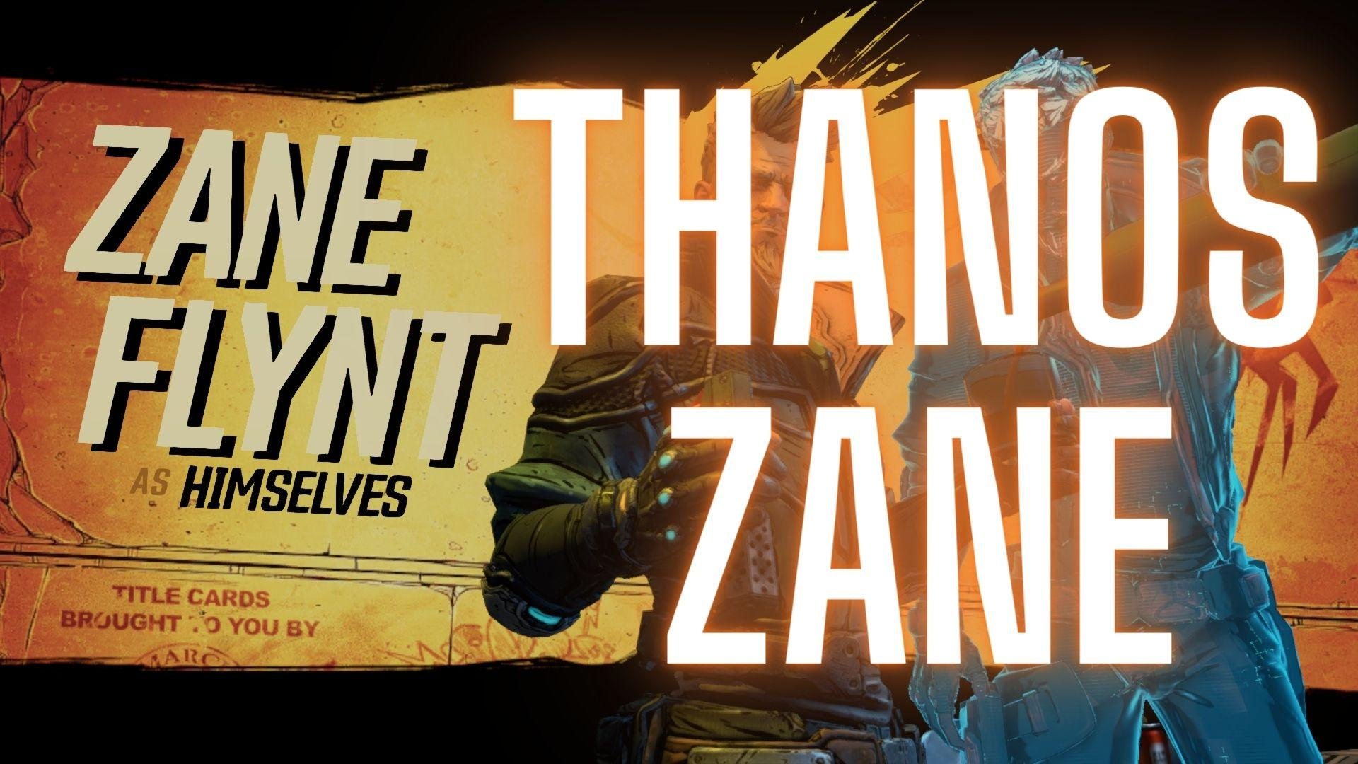 Borderlands 3 Zane Build: Thanos Zane [level 65, Mayhem 11] + SAVE FILE