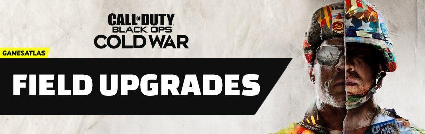 cod cold war field upgrades
