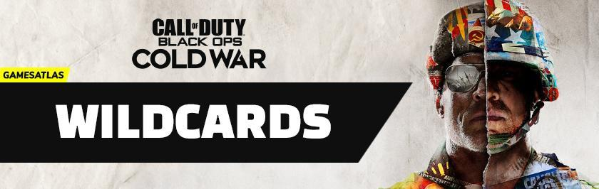 cod cold war wildcards
