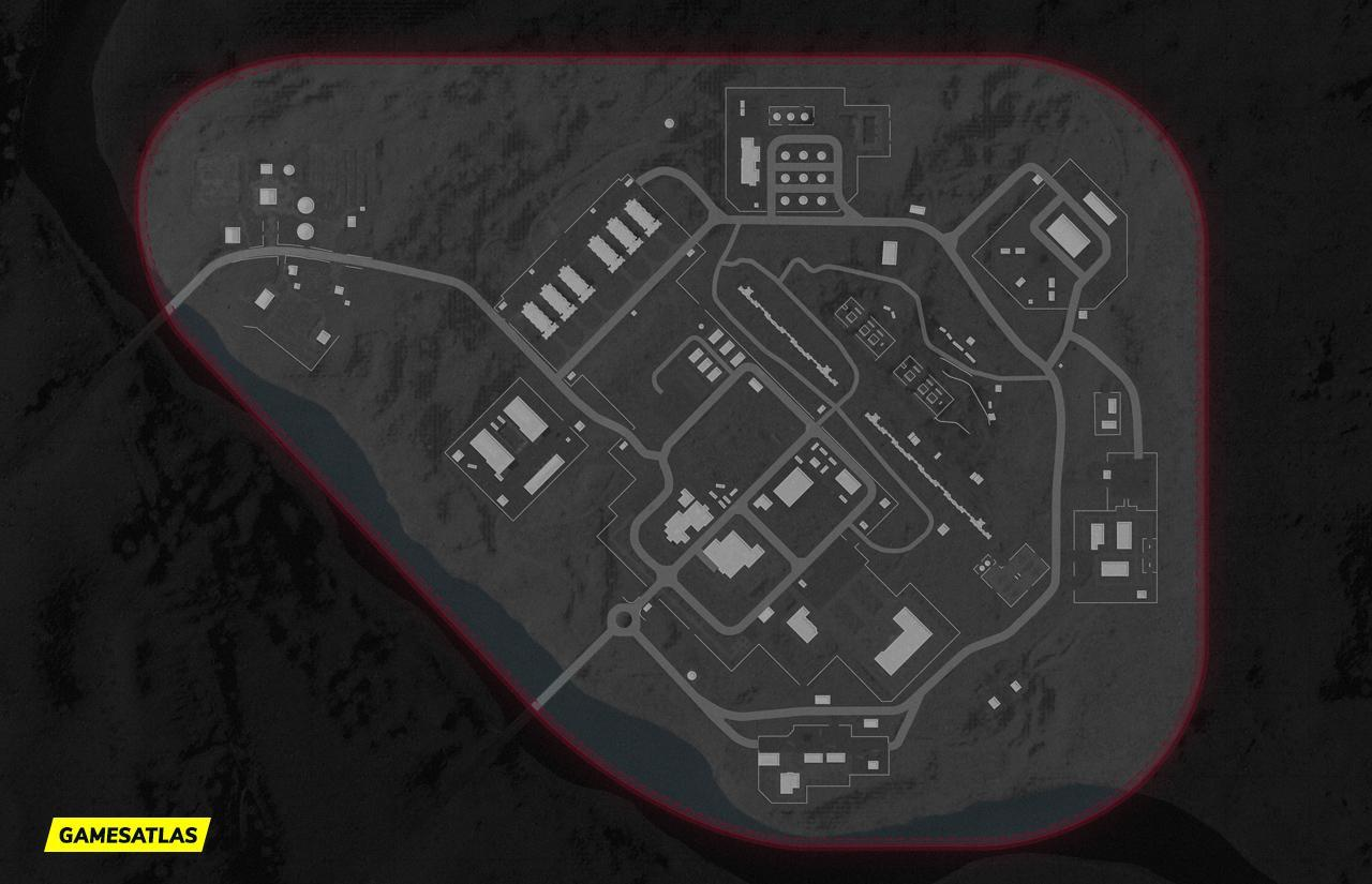 Duga COD Cold War Map Layout