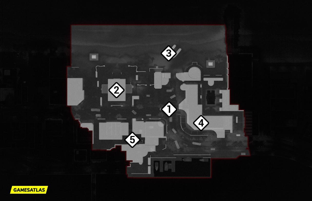 Miami COD Cold War Map Hardpoint Rotations