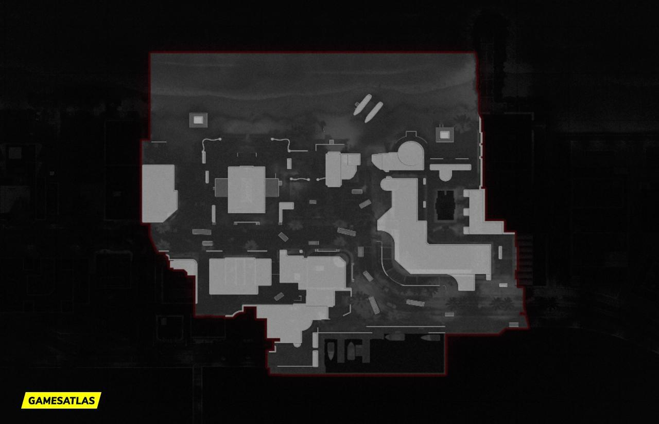 COD Cold War Miami Map Layout