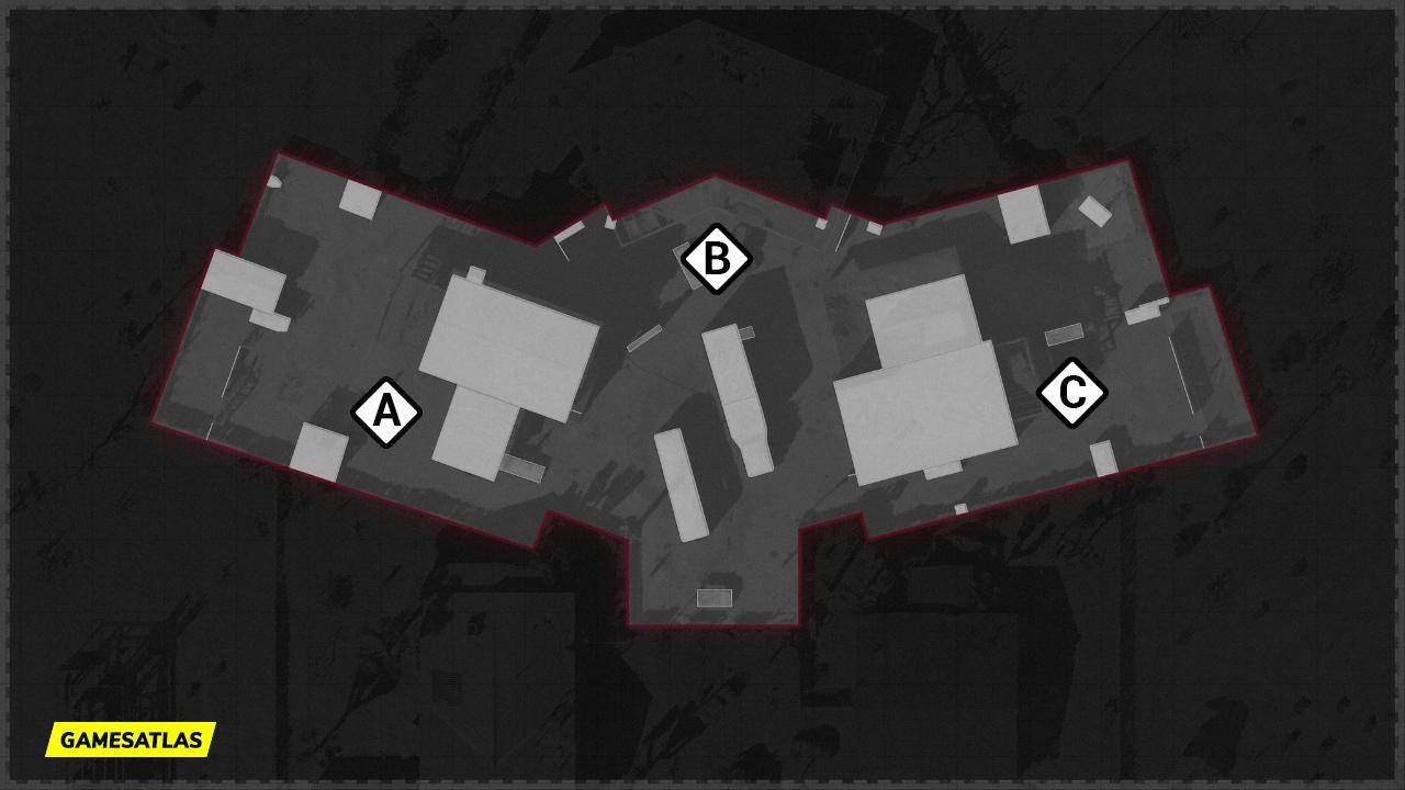 Nuketown 84 COD Cold War Map Domination Flags