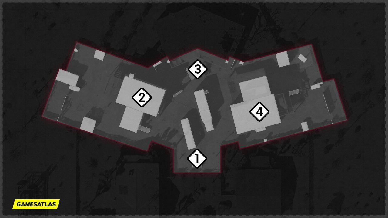 Nuketown 84 COD Cold War Map Hardpoint Rotations