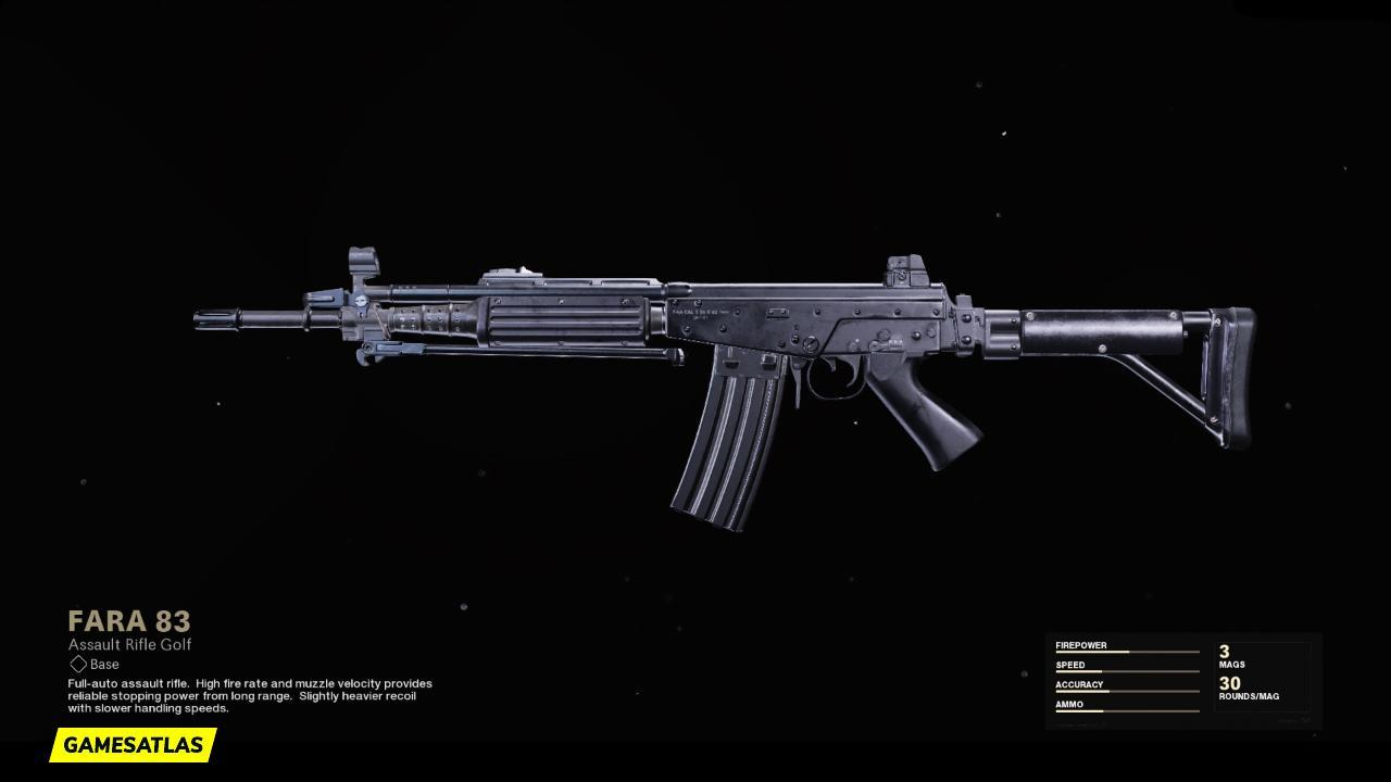 FARA 83 | Warzone Blueprints | COD Black Ops Cold War | Weapon Attachments & Stats | Call of Duty