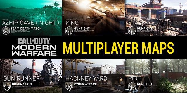 All Call Of Duty Modern Warfare Maps 2019 2020 Full List Including New Cod Mw Season 6 Maps