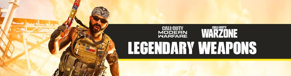 call of duty warzone best legendary weapons