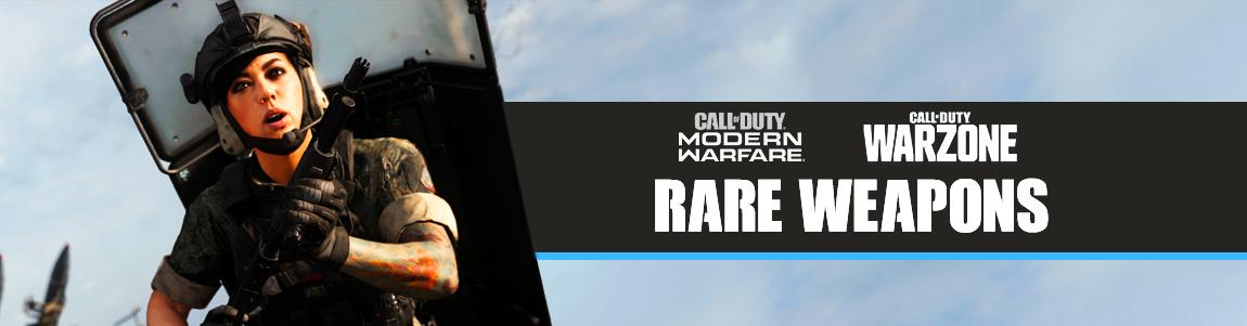 call of duty warzone best Rare weapons