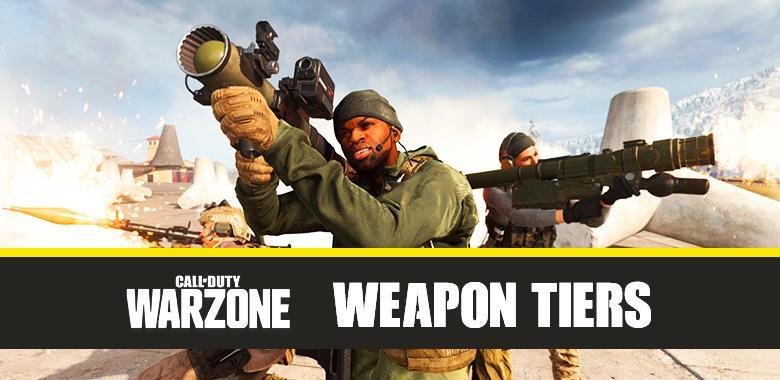 Call of Duty Warzone Best Weapons and Tiers (2020) - COD Battle Royale Weapon Ranks