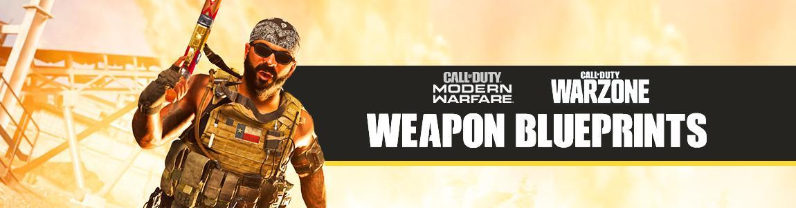 COD Warzone and Modern Warfare Blueprints Database | List ...