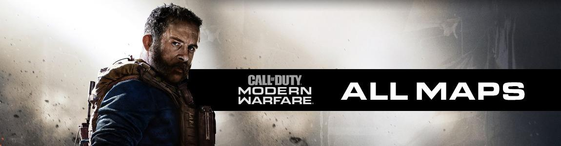 all call of duty modern warfare maps