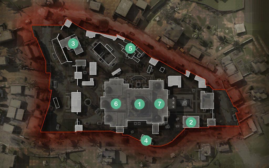 Aniyah Incursion Map Headquarters Hardpoint Rotations