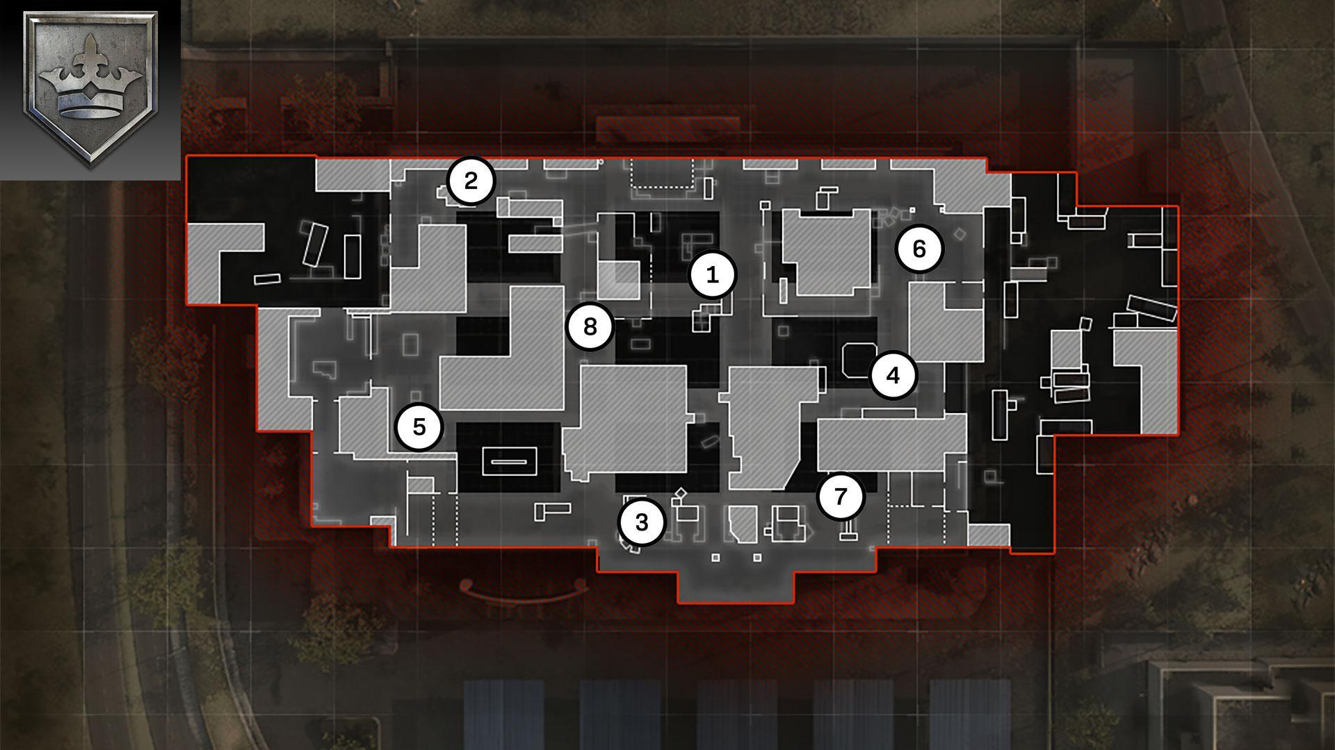 AtlasSuperstore Map Headquarters Rotations