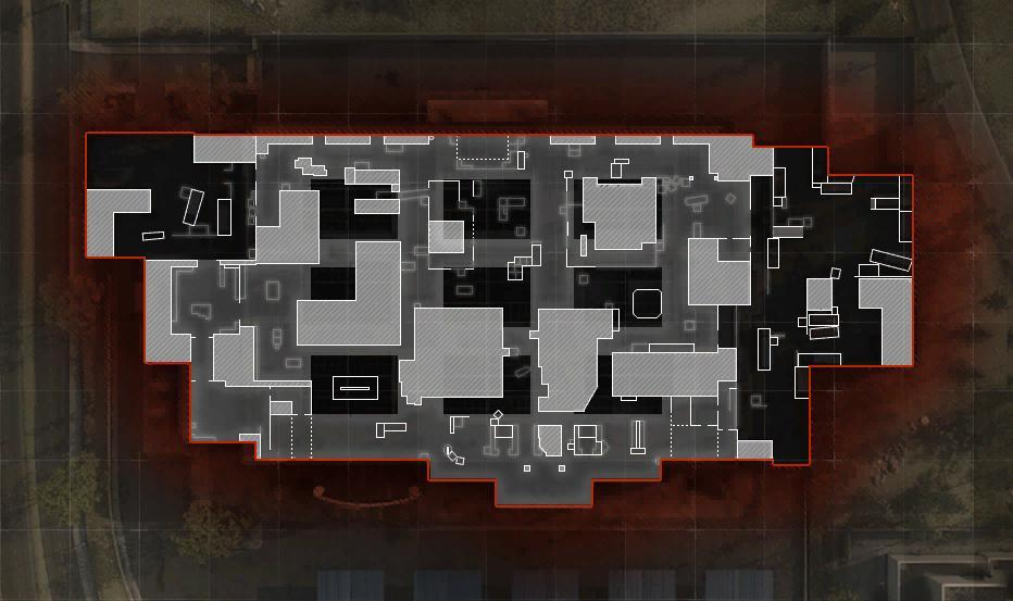 COD ModernWarfare AtlasSuperstore Mini Map Layout