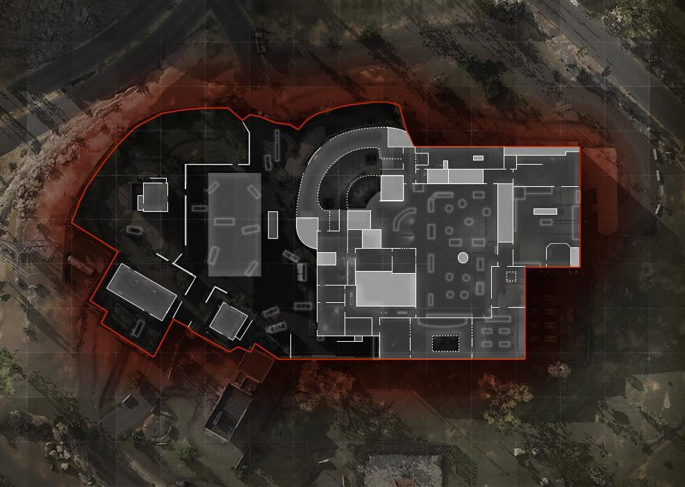 COD ModernWarfare Broadcast Mini Map Layout