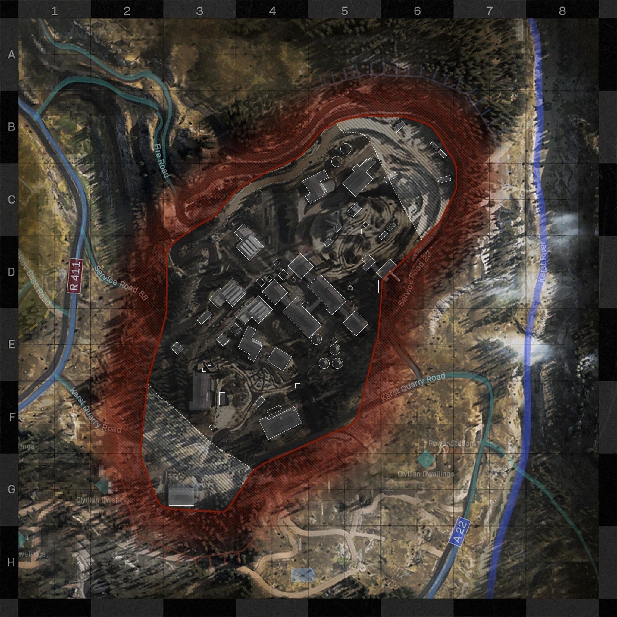 Karst River Quarry Cod Modern Warfare Maps Call Of Duty