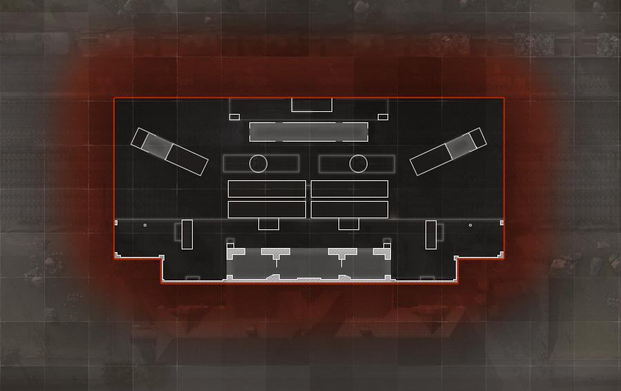 COD ModernWarfare Station Mini Map Layout