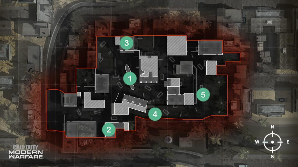 Crash Map Headquarters Hardpoint Rotations