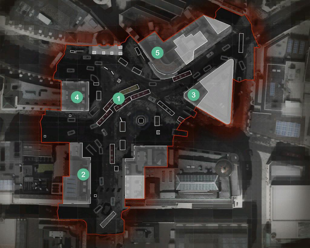 Piccadilly Map Headquarters Hardpoint Rotations