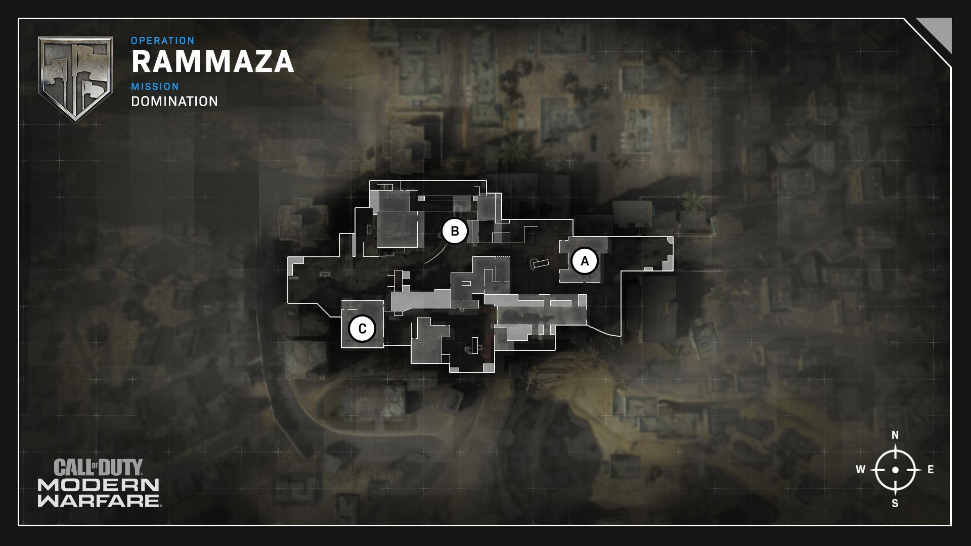 Rammaza Map Domination Flags