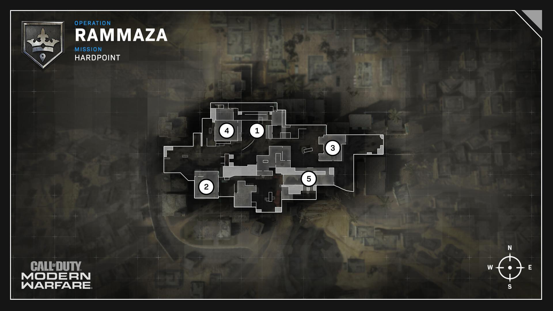 Rammaza Map Headquarters Hardpoint Rotations