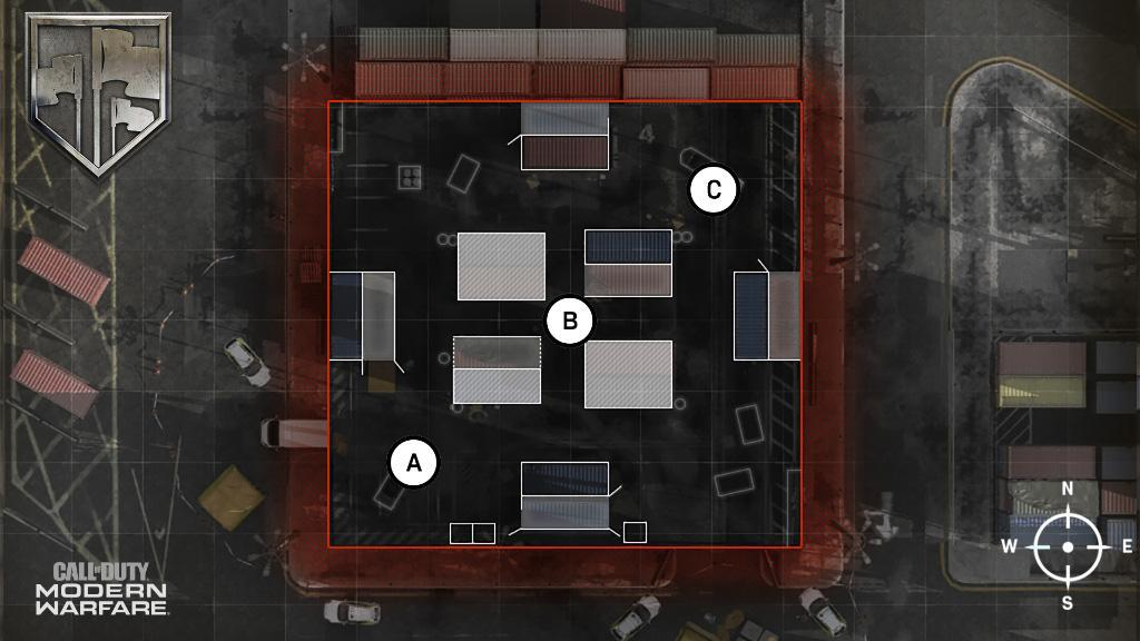 Shipment Map Headquarters Hardpoint Rotations