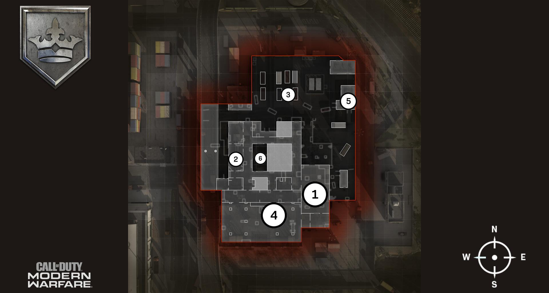 Vacant Map Headquarters Hardpoint Rotations