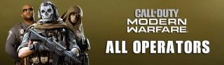 All Operators in Call of Duty: Modern Warfare Warzone - Full List of Characters for Coalition and Allegiance Factions