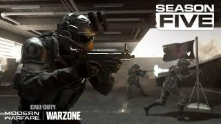 Modern Warfare and Warzone Season 5 - New Weapons, New Maps, New Operators and more!