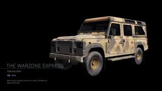 The Warzone Express | SUV Skin