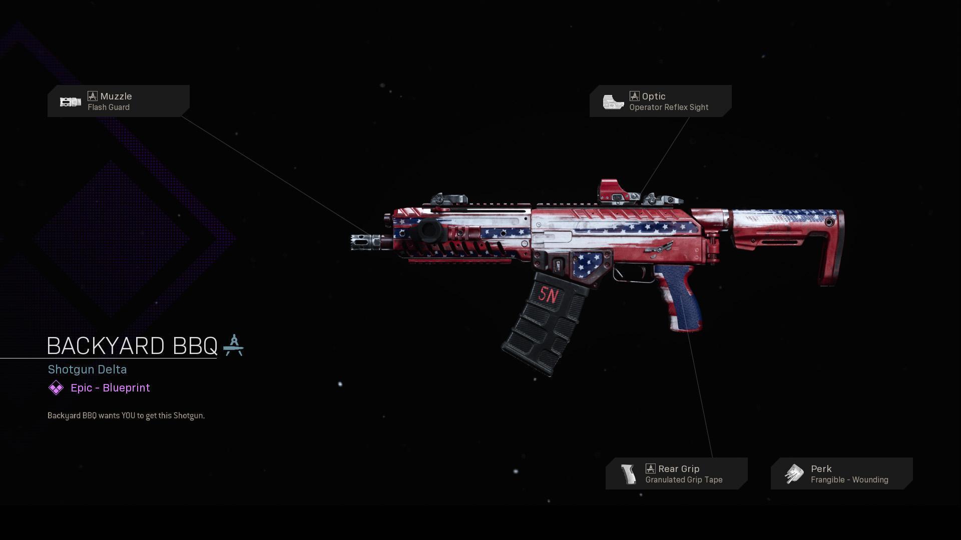 Backyard Bbq Cod Warzone Modern Warfare Weapon Blueprint Call Of Duty Backyard bbq modern warfare