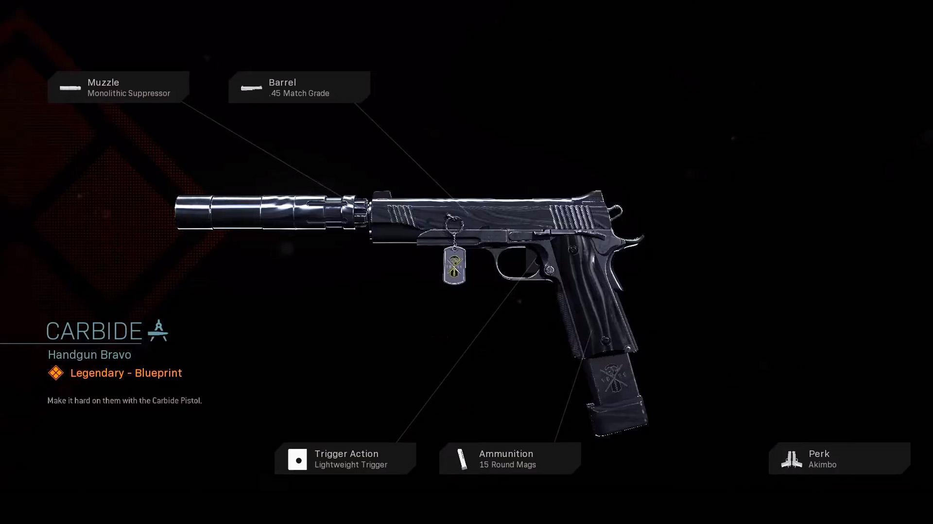Carbide Cod Warzone Weapons Legendary Blueprint Call Of Duty Modern Warfare