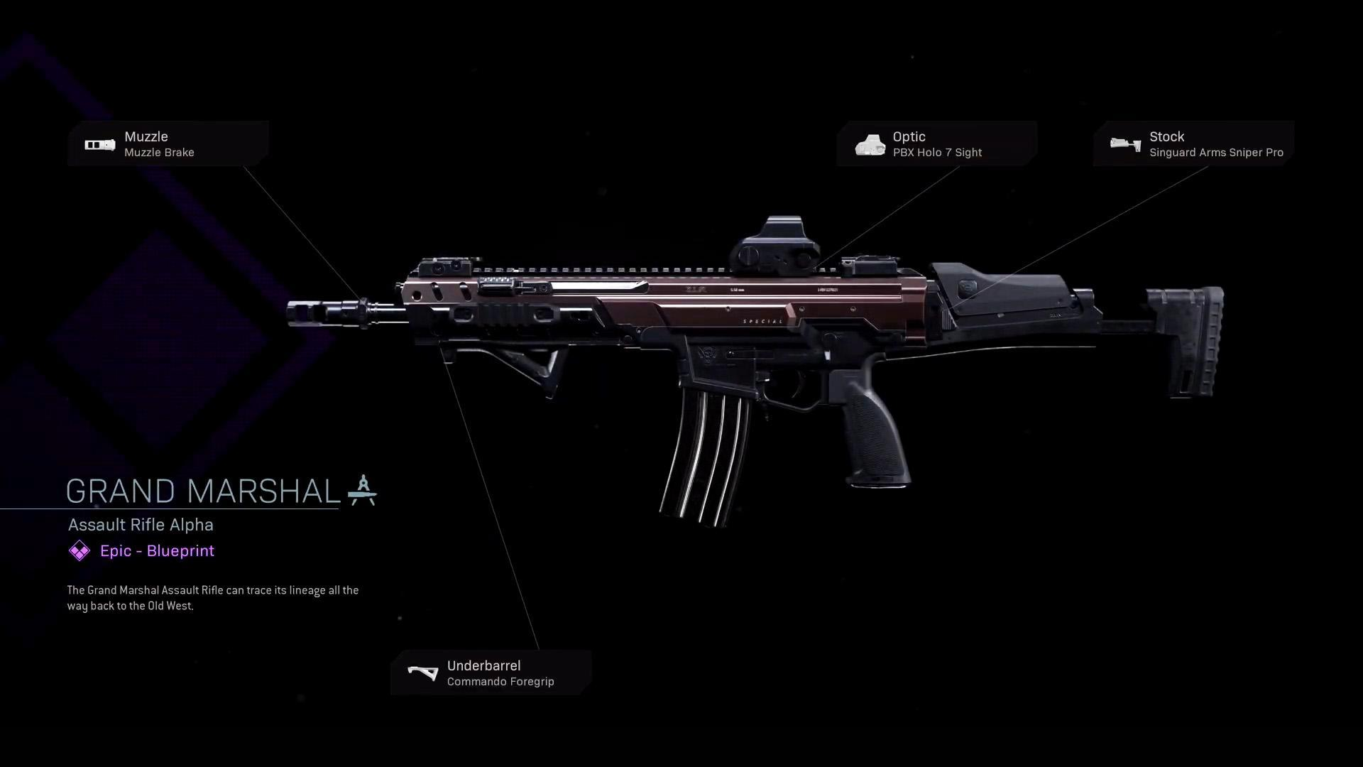 Grand Marshal   COD Warzone   Modern Warfare   Weapon Blueprint   Call of  Duty