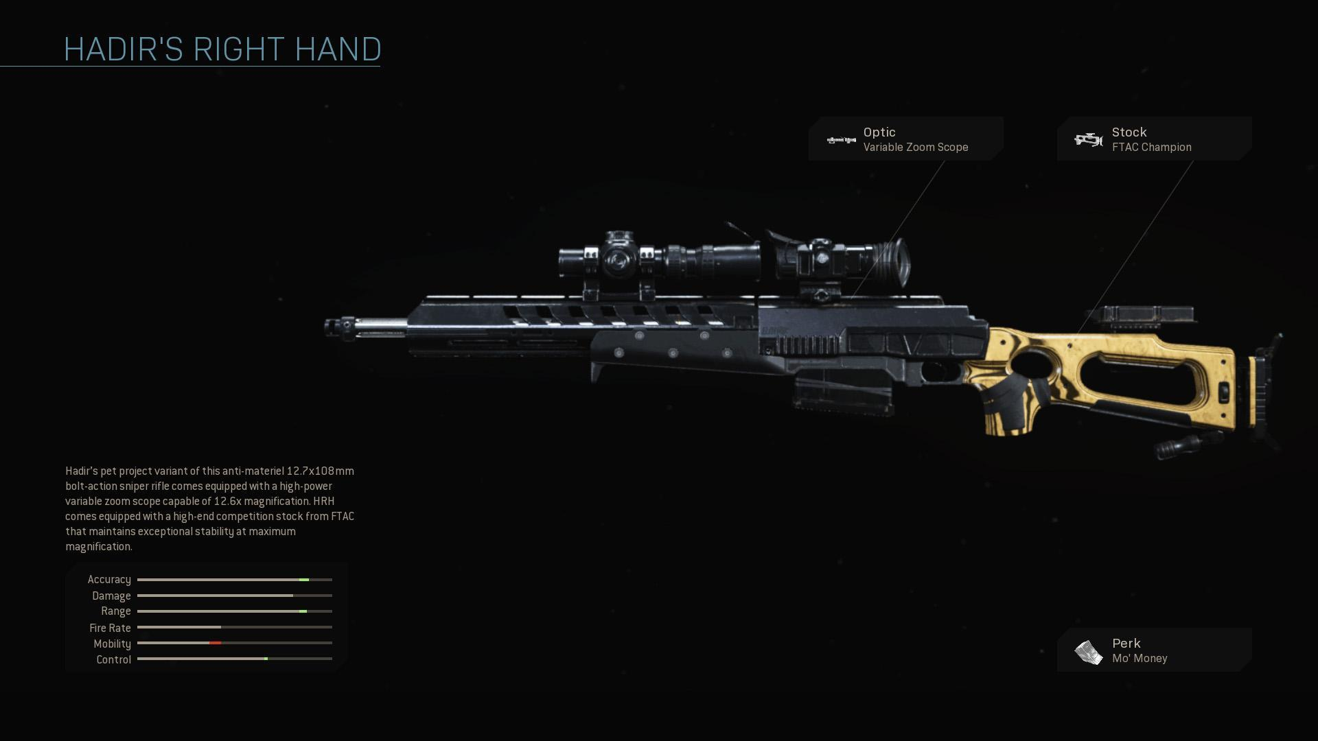 Hadir S Right Hand Cod Warzone Rare Weapon Blueprint Cod Warzone Blueprints