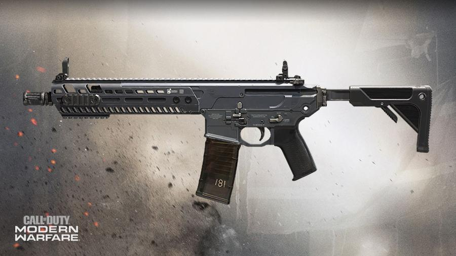 M13 Cod Modern Warfare Weapons Blueprints Call Of Duty Modern Warfare
