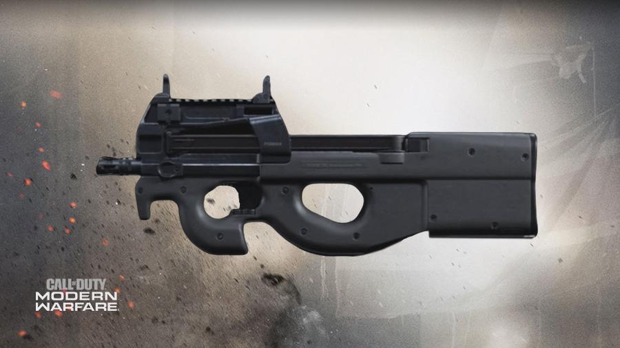 P90 loadout in warzone