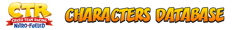 Crash Team Racing Nitro-Fueled Characters Statistics - Racers Database