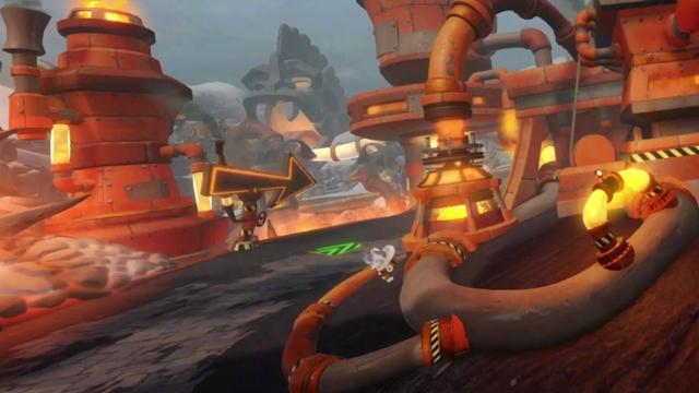 Image result for crash team racing nitro fueled meteor gorge