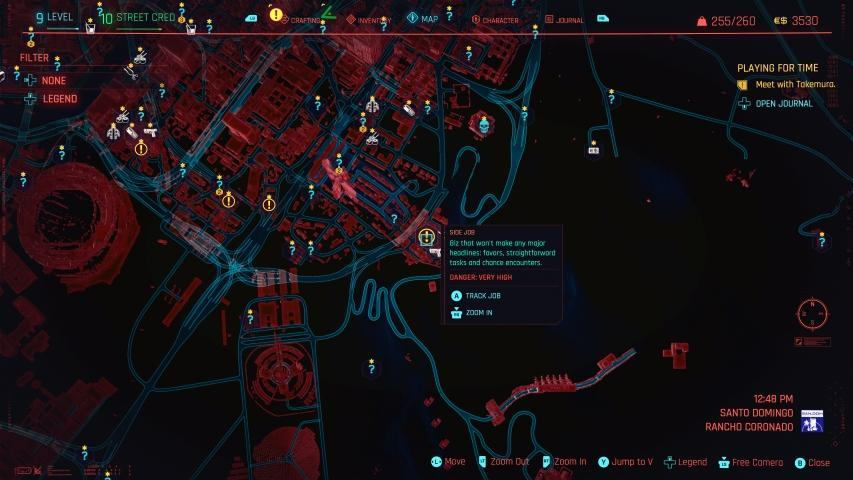 Cyberpunk 2077 Divided We Stand Iconic Weapon Location Guide 1