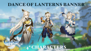 Genshin Impact: Keqing Banner 4* Characters Overview and Tips